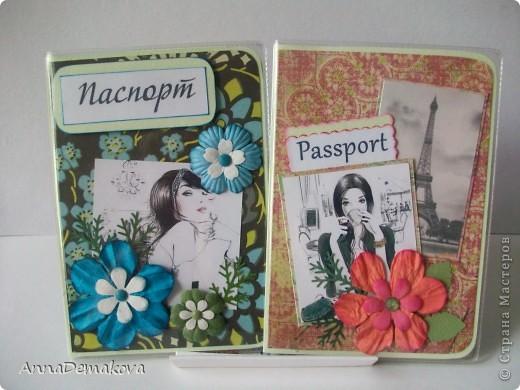 Обложки для паспорта своими руками скрапбукинг