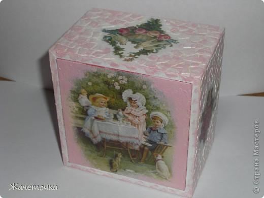 Шкатулочка для подарка фото 1