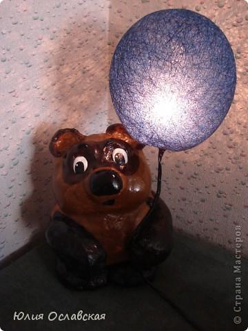 Если я возьму синий шарик, то пчелы подумают , что это маленькая тучка и ничего не заметят. Пух, а они не заметят под шариком тебя?... фото 2