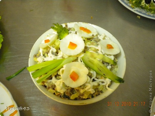 Такие салатики я делала на Новый год. фото 6