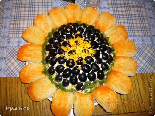 Такие салатики я делала на Новый год. фото 2