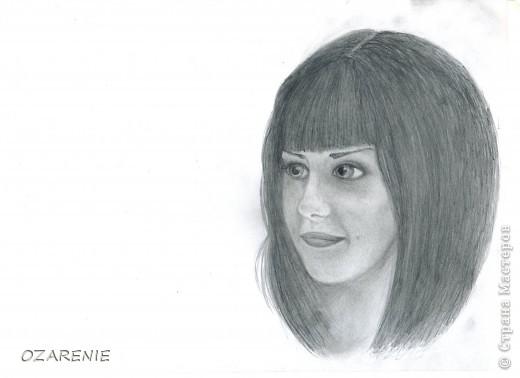 Нарисовано без карандашного наброска и очень быстро... под настроение фото 4