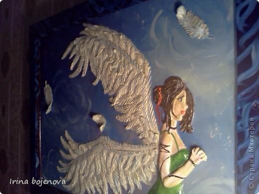 Вот такой ангел у меня получился! фото 2
