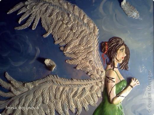 Вот такой ангел у меня получился! фото 3