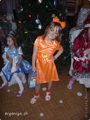 Такой костюм ЛИСИЧКИ мы сшили на Новый год! фото 1