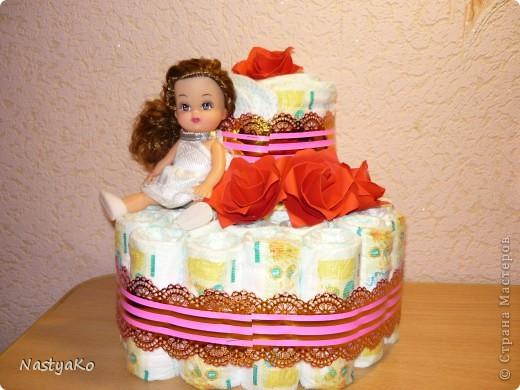 Это мой второй тортик,сегодня будет подарен сестре мужа)) фото 1