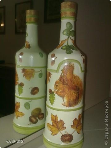 Снова бутылка с незаметным двухшаговым кракелюром фото 3
