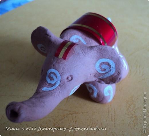 Слоненок. Держатель колец. фото 2