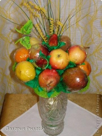 Букет из фруктов. фото 1