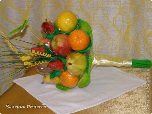 Букет из фруктов. фото 2