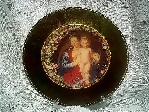 Вот такая у меня получилась тарелочка. фото 1