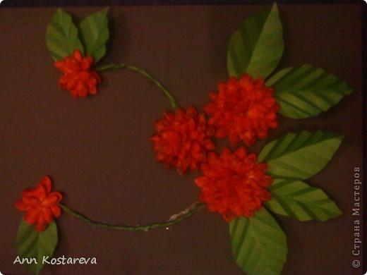 подсмотрела идею выполнения цветов у http://stranamasterov.ru/node/40718  фото 2