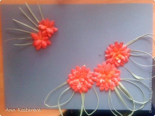 подсмотрела идею выполнения цветов у http://stranamasterov.ru/node/40718  фото 1