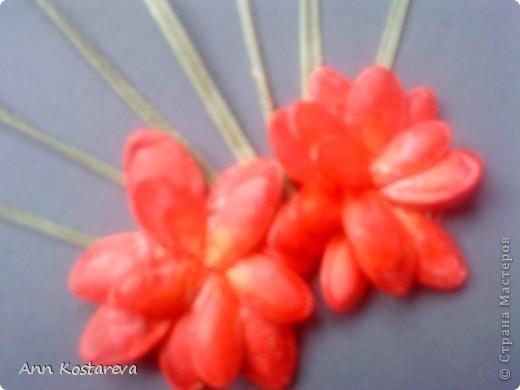 подсмотрела идею выполнения цветов у http://stranamasterov.ru/node/40718  фото 4