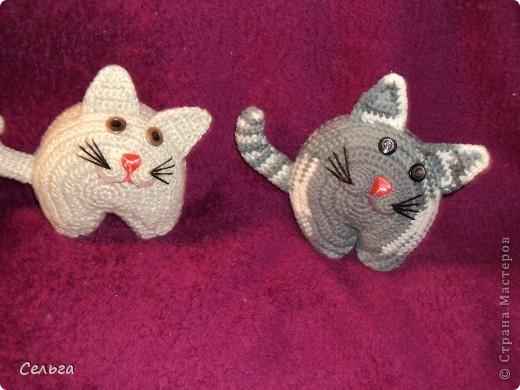 Кошечка-модница с ридикюлем(это отдельная игрушка-мышка, только хвостик в виде петли, чтобы надевался на лапку кошки). фото 6