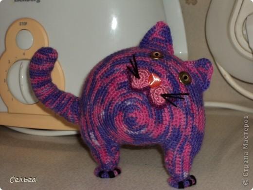 Кошечка-модница с ридикюлем(это отдельная игрушка-мышка, только хвостик в виде петли, чтобы надевался на лапку кошки). фото 8