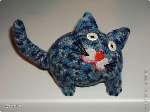 Кошечка-модница с ридикюлем(это отдельная игрушка-мышка, только хвостик в виде петли, чтобы надевался на лапку кошки). фото 7