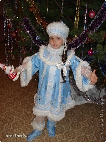 костюм Снегурочки в Новому 2011 году