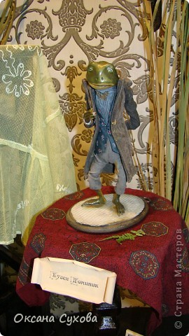 Приглашаю всех на выставку кукол, которая проходит на Тишинке в г. Москве!!!!! А кто не может лично посетить эту интересную  выставку, я хочу предоставить такую возможность, заглянув на неё при помощи моего фотоаппарата..... Приятного просмотра!!! фото 7