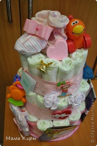 Тортик для маленькой принцессы (ну, или скорее для её мамочки:) фото 1