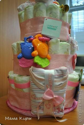 Тортик для маленькой принцессы (ну, или скорее для её мамочки:) фото 2