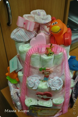 Тортик для маленькой принцессы (ну, или скорее для её мамочки:) фото 3