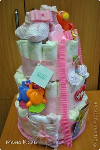 Тортик для маленькой принцессы (ну, или скорее для её мамочки:) фото 4