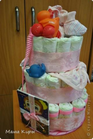 Тортик для маленькой принцессы (ну, или скорее для её мамочки:) фото 5