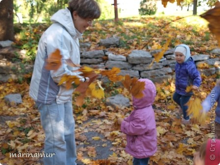 Решили мы вспомнить лето и сделать из камней божьих коровок и пчелок. фото 14