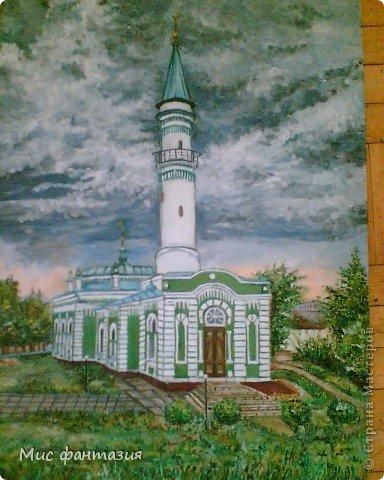Мечеть в нашем городе. Конечный результат. фото 2
