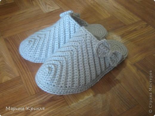 Тапочки для бабушки