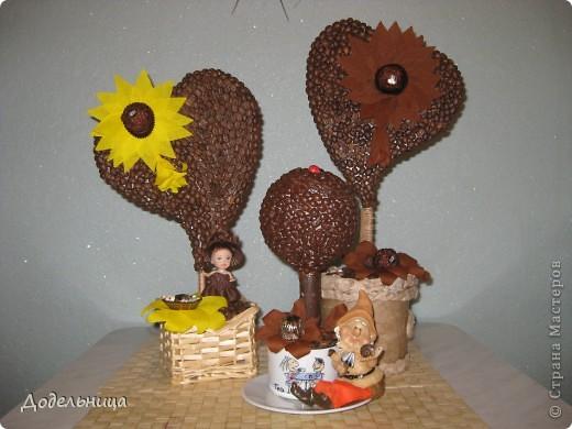 Кофейные сердца для моих подружек педагогов. фото 1