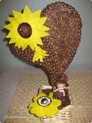 Кофейные сердца для моих подружек педагогов. фото 4