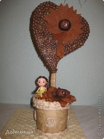 Кофейные сердца для моих подружек педагогов. фото 6