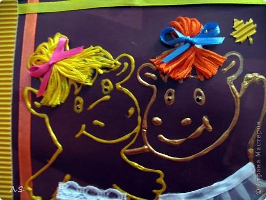 А вот и наши с дочкой открытки ко Дню учителя. За идеи большое спасибо Киске КарЛе!!! Эта открытка наша первая - учительнице в школе.  фото 7
