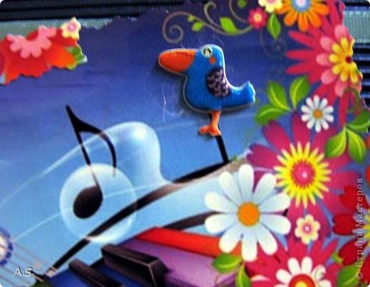 А вот и наши с дочкой открытки ко Дню учителя. За идеи большое спасибо Киске КарЛе!!! Эта открытка наша первая - учительнице в школе.  фото 12