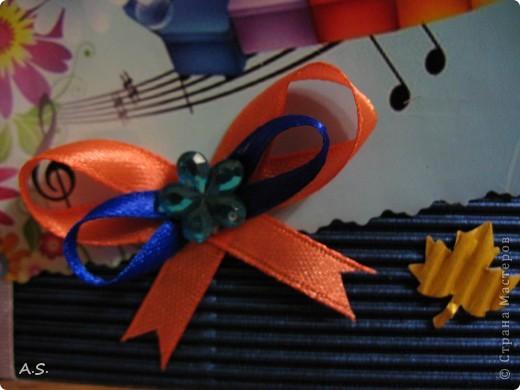 А вот и наши с дочкой открытки ко Дню учителя. За идеи большое спасибо Киске КарЛе!!! Эта открытка наша первая - учительнице в школе.  фото 13