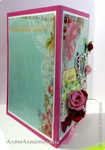 Заказали открытку на 40 годовщину свадьбы.40 лет - это рубиновая свадьба, отсюда и отталкивалась. фото 2