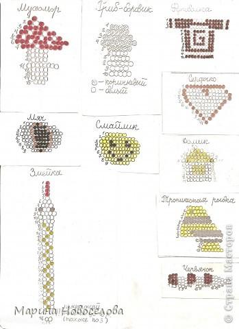 Хочу поделиться схемами плетения забавных фигурок. Подобные вещицы очень любят плести мои ученики фото 10