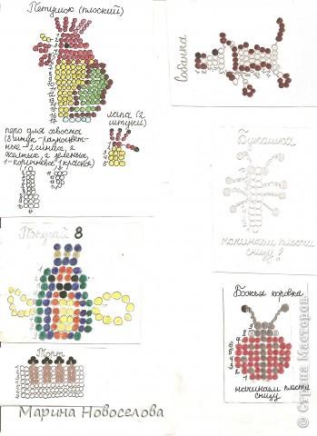 Хочу поделиться схемами плетения забавных фигурок. Подобные вещицы очень любят плести мои ученики фото 13