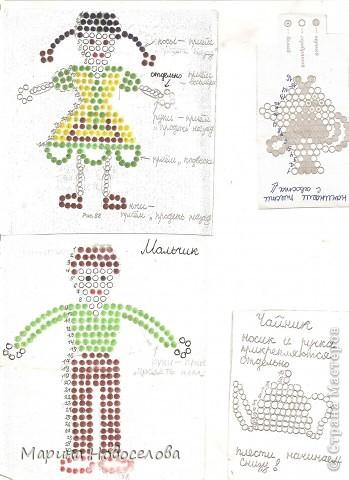 Хочу поделиться схемами плетения забавных фигурок. Подобные вещицы очень любят плести мои ученики фото 14
