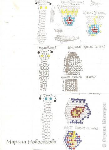 Хочу поделиться схемами плетения забавных фигурок. Подобные вещицы очень любят плести мои ученики фото 16