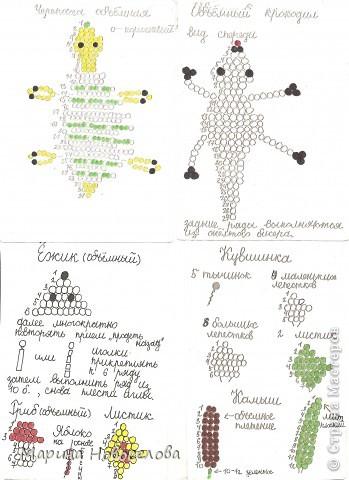 Хочу поделиться схемами плетения забавных фигурок. Подобные вещицы очень любят плести мои ученики фото 48