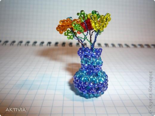не было места для цветов - сплела вазу фото 1