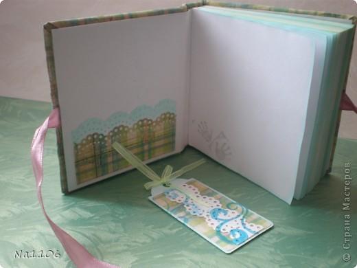 Блокнотик для милой девушки, массажиста моего малыша:) фото 4