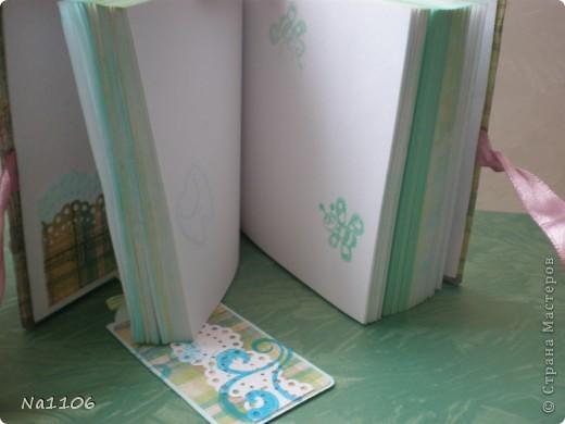 Блокнотик для милой девушки, массажиста моего малыша:) фото 5