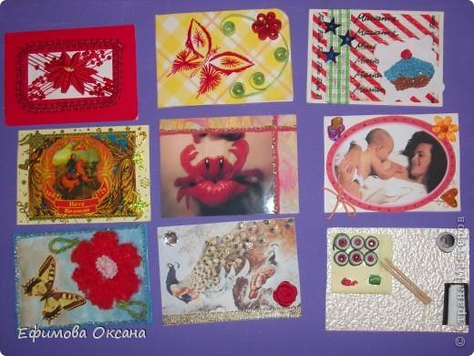Вот такие необычные карточки у меня получились.))) Может, конечно, и не похоже на времена года, но мне показалось именно так. фото 7