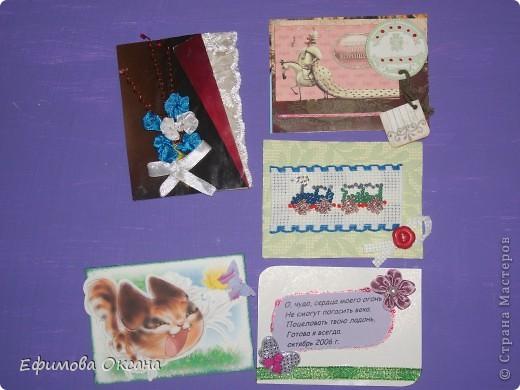 Вот такие необычные карточки у меня получились.))) Может, конечно, и не похоже на времена года, но мне показалось именно так. фото 9
