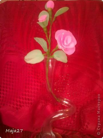 Цветы из капрона. фото 7