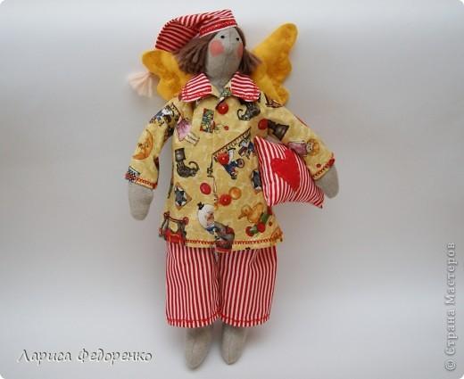 Кукла Тильда сплюшка Ванюшка фото 2